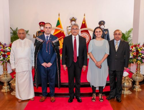 APPOINTMENT OF THE FIRST HIGH COMMISSIONER OF THE NEW ZEALAND TO SRI LANKA