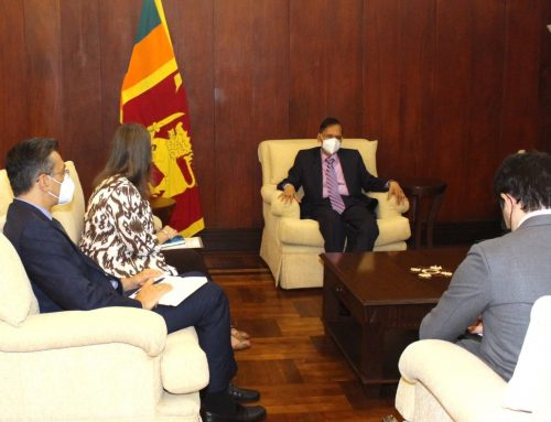 US AMBASSADOR PAYS FAREWELL CALL ON FOREIGN MINISTER